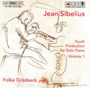 Sibelius - Youth Production for Solo Piano, Volume 1 Product Image