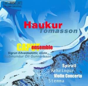 Haukur Tómasson: Spirall, Árhringur, Violin Concerto & Stemma Product Image