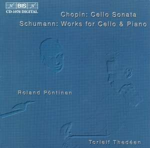 Chopin & Schumann - Works for Cello & Piano Product Image