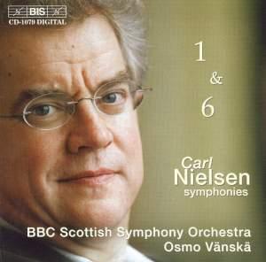 Nielsen - Symphonies 1 & 6 Product Image