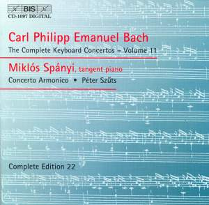 C P E Bach - Complete Keyboard Concertos, Volume 11 Product Image