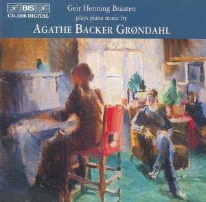 Piano music by Agathe Backer Grøndahl Product Image