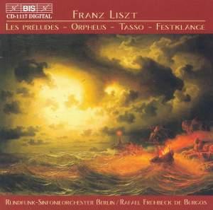 Liszt: Les Préludes, Orpheus, Tasso, Festklänge Product Image