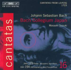 Bach - Cantatas Volume 16 Product Image