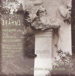 Brahms - Transcriptions for orchestra Product Image
