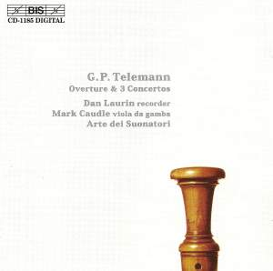 Telemann: Overture and Concerti Product Image