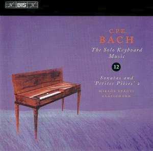 C P E Bach - Solo Keyboard Music Volume 12