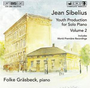 Sibelius - Youth Production for Solo Piano, Volume 2