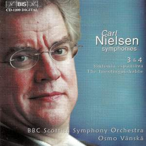 Nielsen: Symphonies Nos. 3 & 4 Product Image
