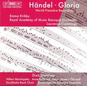 Handel - Gloria - Dixit Dominus Product Image