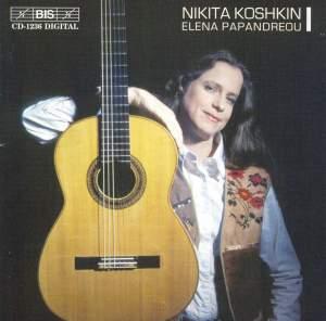 Nikita Koshkin - Music for Guitar