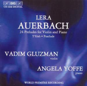 Auerbach: 24 Preludes for Violin and Piano, etc. Product Image