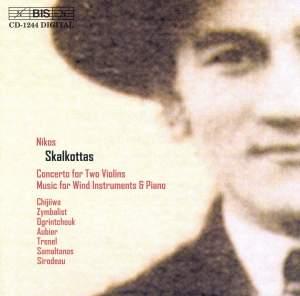 Skalkottas: Concerto for Two Violins, etc.