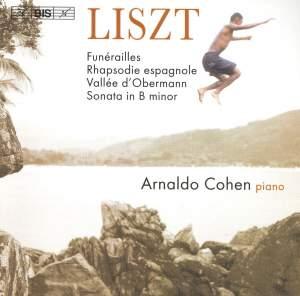 Liszt: Funérailles, Rhapsodie espagnole, Vallée d'Obermann, Piano Sonata
