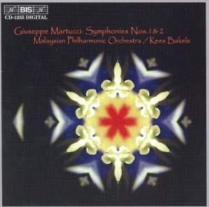 Martucci: Symphony No.1 in D minor, Op.75, etc.