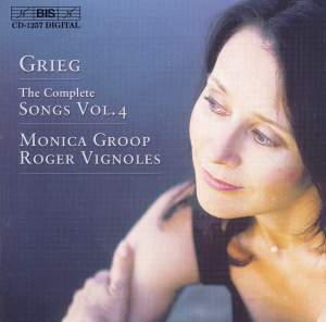Grieg - The Complete Songs Volume 4
