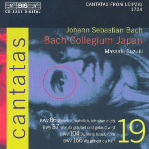 Bach - Cantatas Volume 19 Product Image