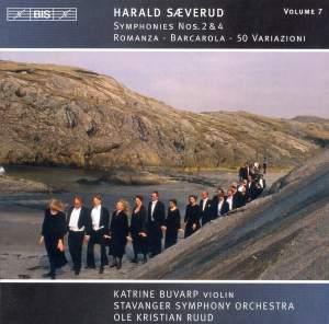 Saeverud: Symphonies Nos. 2 & 4, Romanza, Barcarola & 50 Variations