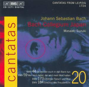 Bach - Cantatas Volume 20 Product Image