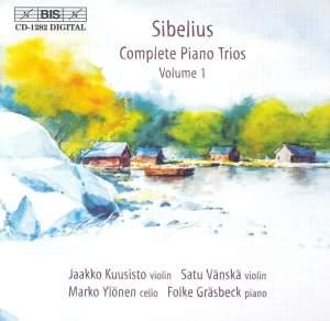 Sibelius - Complete Piano Trios Volume 1