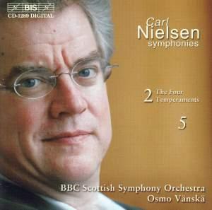 Nielsen: Symphony No. 2, Op. 16 (FS29) 'The Four temperaments', etc. Product Image