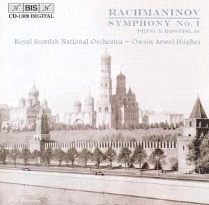 Rachmaninov: Symphony No. 1 in D minor, Op. 13, etc. Product Image