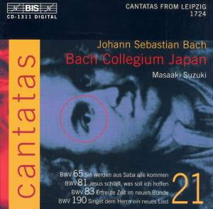 Bach - Cantatas Volume 21 Product Image