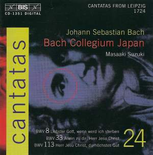Bach - Cantatas Volume 24 Product Image