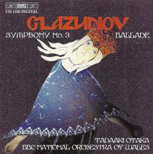 Glazunov: Symphony No. 3 in D major, Op. 33, etc. Product Image