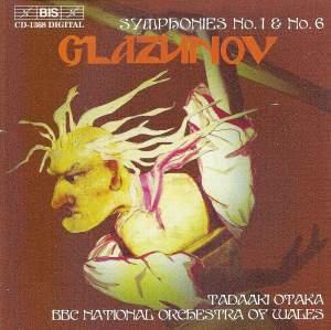 Glazunov: Symphony No. 1 in E major, Op. 5 'Slavyanskaya', etc. Product Image