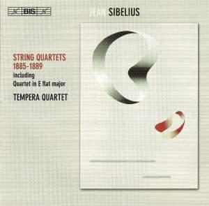 Sibelius: String Quartets 1885-1889