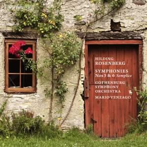 Rosenberg - Symphonies Nos. 3 & 6 Product Image