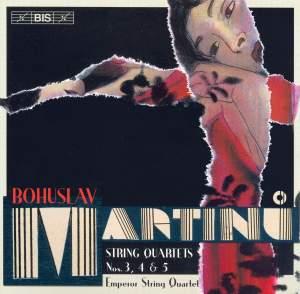 Martinu - String Quartets Nos. 3, 4 & 5 Product Image