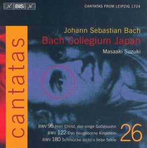 Bach - Cantatas Volume 26 Product Image