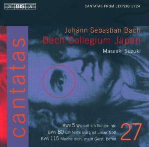Bach - Cantatas Volume 27 Product Image