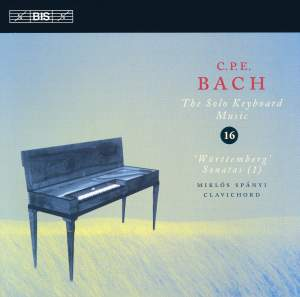 C P E Bach - Solo Keyboard Music Volume 16 Product Image
