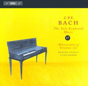 C P E Bach - Solo Keyboard Music Volume 17