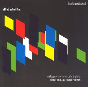 Schnittke - Epilogue, works for cello and piano