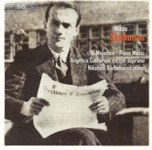 Nikos Skalkottas: 16 Melodies & piano music