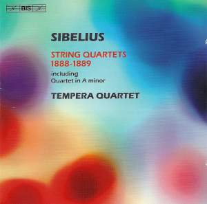 Sibelius: String Quartets (1888-1889) Product Image