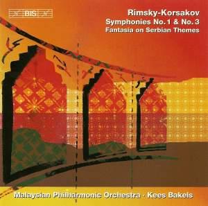 Rimsky Korsakov: Symphonies Nos. 1 & 3 and Fantasia on Serbian Themes Product Image