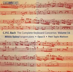 C P E Bach - Complete Keyboard Concertos, Volume 14