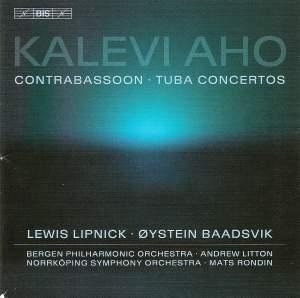 Aho - Tuba and Contrabassoon Concertos