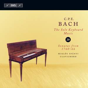 C P E Bach - Solo Keyboard Music Volume 20 Product Image