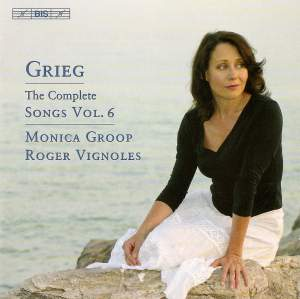 Grieg - The Complete Songs Volume 6 Product Image