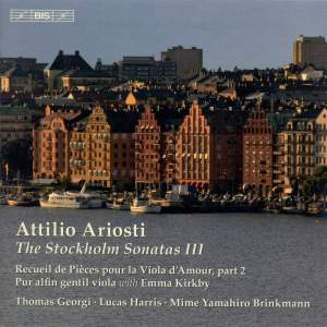 Ariosti - The Stockholm Sonatas III Product Image