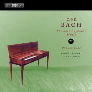 Bach: Solo Keyboard Music, Vol. 22