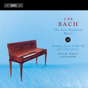 C P E Bach - Solo Keyboard Music Volume 23