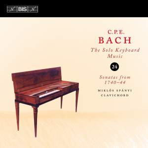 C P E Bach - Solo Keyboard Music Volume 24 Product Image