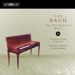 C P E Bach - Solo Keyboard Music Volume 25
